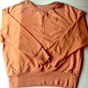 Xhilaration Peach long sleeve